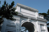 Arched gateway to the High Court of Bangladesh