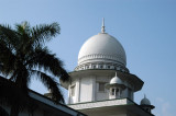 The mughal-inspired dome of High Court of Bangladesh