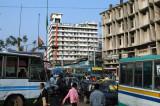 Gridlock, central Dhaka