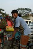 Rickshaw wallah, Dhaka