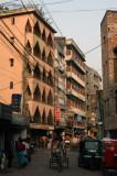 The road from Motijheel to Kamalapur, Dhaka