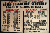 The first bus up to Machu Picchu leaves Aguas Calientes at 5:30 am