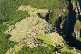 Machu Picchu from the summit of Wayna Picchu