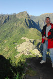 From the Wayna Picchu terraces