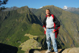 Me on top of Wayna Picchu