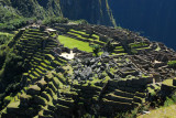 Terraces and central ruins of Machu Picchu