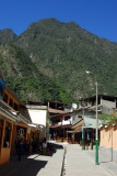 Main street of Aguas Calientes