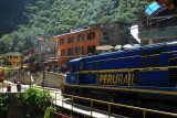 Peru Rail, Aguas Calientes