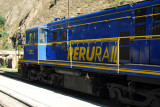 Peru Rail locomotive