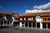 SE Corner of the Plaza de Armas, Cusco