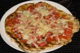 fresh tomato and cheese