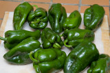 12 poblano peppers