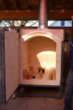 Small Gas Kiln - Open