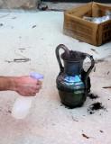 Large Vase Cooling