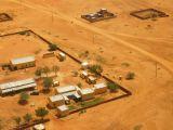 Close to landing in El-Fasher
