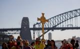 Crucifix with Harbour Bridge