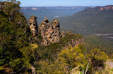 Three sisters at Blue Mountains