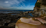 Dee Why with sandstone rock