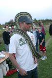 Carpet Python hat