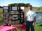 Tom at the ecology table
