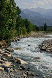 Issyk River, Kazakhstan