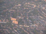 London England from the air. I was amazed at the congestion.