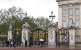 Gates of Buckingham Palace.