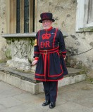 Beefeater.tower of london.