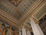 Ceiling in one of the rooms