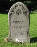 My Great Grandparents Grave - George and Hannah Alder