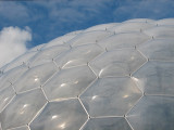 Close up of the Eden Project
