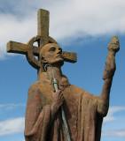 St Aidan, an Irish Monk who founded Lindisfarne