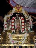 MM Sattrumarai -evening Parthasarathy on DharmAdhi peedam.JPG
