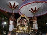 MM Sattrumarai -evening Parthasarathy on DharmAdhi peedam2.JPG