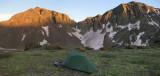 Nebo Lake camp, San Juans, Colorado
