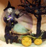Halloween Scene sold