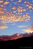 Mountian Fire Sunset