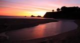 Sunset Northern California Coast