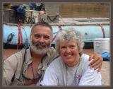 Kim & Debi at Camp 13 taken by Jenny McCurdy