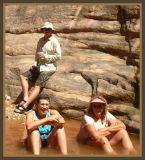 Julie, Barb, & Bobby at Shimuno Creek taken by Jenny McCurdy (Version 2)