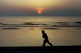A Boy in Sunset