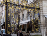Gold-gilded grill of Place Stanislas