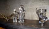 Daum crystal in the Musée de Beaux Arts