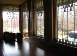 Windows that match those in the living room