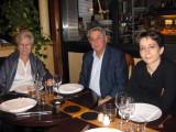 Dinner at Marty's restaurant