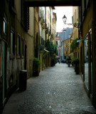 quite narrow street