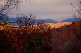 Cumberland Mountains in Fall