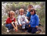A Sant Marc - Marta, Guillem, Alex i Clara