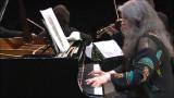 Martha Argerich, enjoying the moment in the Shostakovich Quintet in g