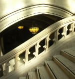 Stairs and Chandelier ~ by Gaurav Rayal